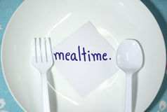 Mealtime Stock Image