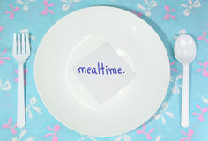 Mealtime Royalty Free Stock Photography