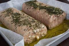 Mealtloaf. Baked veal with spices Royalty Free Stock Images