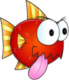 Mean Fish Vector Stock Image