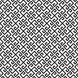 Meander Fret Diagonal Greek Seamless Texture. Black and white greek key fret meander mosaic geometric pattern. Greek lines texture diagonal seamless tile Royalty Free Stock Photos