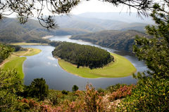 Free Meander Of The Alagon River,  Extremadura (Spain) Royalty Free Stock Image - 29234646