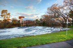 Meander River Falls, Tasmania, Australia. Meander River Falls in Deloraine, Tasmania royalty free stock images