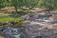 Meandering Creek Royalty Free Stock Photo
