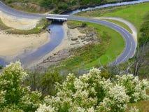 Meandering Great Ocean Road, Australia Royalty Free Stock Images