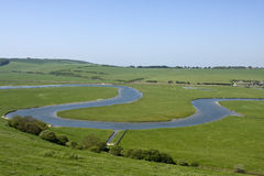 Meandering River Royalty Free Stock Photos