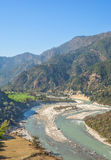 meandering river Stock Photos