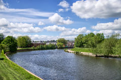 Meandering River Exe Stock Images