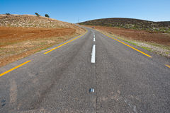 Meandering Road Royalty Free Stock Images