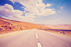 Meandering Road Royalty Free Stock Photo