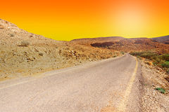 Meandering Road Stock Images