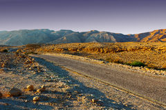Meandering Road Royalty Free Stock Photography