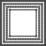 Meandro simple tradicional ilustración del vector