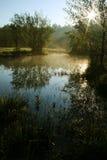 Meandros del río de Lucina imagen de archivo libre de regalías