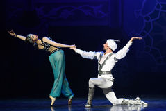 """The meaning of Aladdin's lamp- ballet """"One Thousand and One Nights"""" Royalty Free Stock Image"""