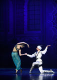 """The meaning of Aladdin's lamp- ballet """"One Thousand and One Nights"""" Royalty Free Stock Images"""