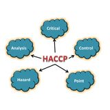 Meaning of haccp abstract Stock Photography