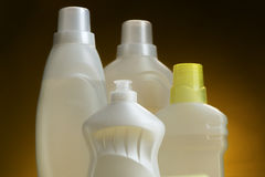 Means of clarification and disinfection. Liquids for washing and cleanings of surfaces Stock Photography