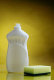 Means of clarification and disinfection. Liquids for washing and cleanings of surfaces Royalty Free Stock Photo