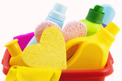 Means for washing and cleaning Royalty Free Stock Photo