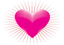 Meashed heart Stock Images