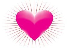 meashed hjärta Arkivbilder