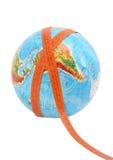 meashure глобуса Стоковое Изображение RF