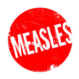 Measles rubber stamp Royalty Free Stock Photos