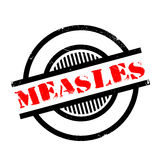 Measles rubber stamp Stock Photos
