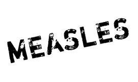 Measles rubber stamp Stock Image