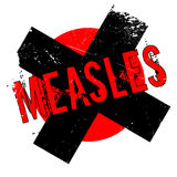 Measles rubber stamp Royalty Free Stock Images