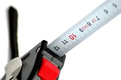 Measure. Building measure Royalty Free Stock Photography
