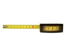 Measure. Tape measure on white background Stock Photos