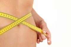 Measure abdomen Royalty Free Stock Photography