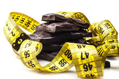 Measure of Chocolate Royalty Free Stock Image