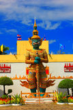 Measure giant in Mini Siam Pattaya City Naklua Banglamung Chonbu. Ri Thailand Royalty Free Stock Image