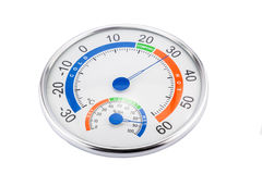 Measure humidity and temperature Stock Images