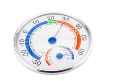 Measure humidity and temperature Royalty Free Stock Photo