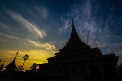 The. Measure King snske Pagoda Nine Taih The Royalty Free Stock Images