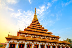 The. Measure King snske Pagoda Nine Thai The Royalty Free Stock Image