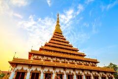The. Measure King snske Pagoda Nine Thai The royalty free stock image