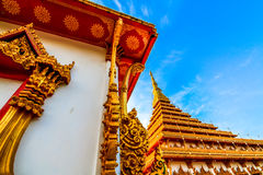The. Measure King snske Pagoda Nine Thai The Royalty Free Stock Photo