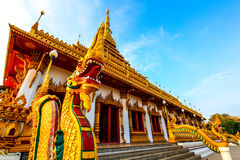 Measure. King snske Pagoda Nine Thai royalty free stock photo