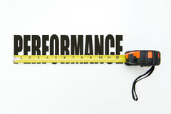 Measure performance Royalty Free Stock Photo