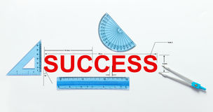 Measure of success Stock Photos