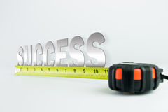 Measure of success Stock Images