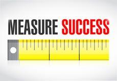 Measure success illustration Stock Photo