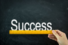 Measure of success Stock Photography