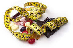 Measure of Sweets Stock Photo