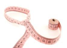 Measure tailoring - tie Royalty Free Stock Photo